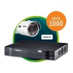 DVR  04 Câm.  Modelo 1004  Intelbrás  - (HDCVI + IP + Analógico)