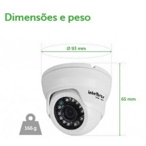 VMD 1010 IR - Câm. Intelbras - Dome 10m