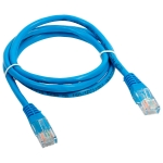 CABOS  PATCH CORD PATCH CORD CAT 5E AZUL  UND